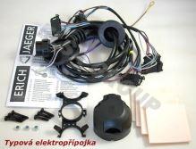 Typová elektroinštalácia Škoda Fabia HB 2014- (III), 7pin, Erich Jaeger