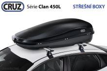 Strešný box CRUZ Clan 450N, U80, černý