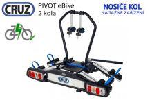 Nosič bicyklov Cruz Pivot eBike - 2 bicykle, na ťažné zariadenie