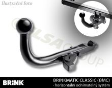 Ťažné zariadenie Honda Civic 5dv. 2006-2011, odnímatelný BMC, BRINK