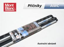 Priečniky strešného nosiča AMC - hliníkové 1250