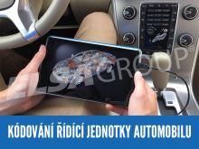 Služba - Kódování řídící jednotky automobilu on-line