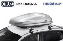 Strešný box CRUZ Road 370GT, matný šedý