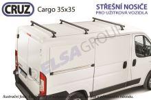 Strešný nosič Mercedes Vito / Viano / V (3 priečníky) Cargo 35x35