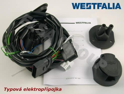 Elektroinštalácia VW Transporter T5 skriňa 13pin