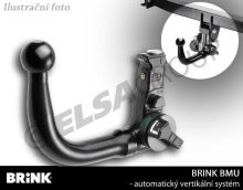 Ťažné zariadenie BMW 5-serie sedan 2010/03-2014/02 (F10), odnímatelný vertikal, BRINK
