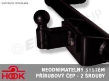 Ťažné zariadenie Iveco Daily skříň 2011/01-2014/06, příruba 2š, HOOK