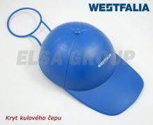 Kryt guľového čapu WESTFALIA modrá šiltovka