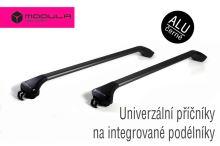 Strešný nosič Dacia Lodgy 12- (s integr. podélníky), ALU čierny