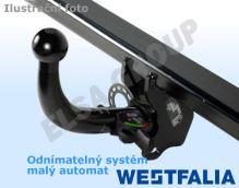 Ťažné zariadenie Fiat Scudo 2007- , odnímatelný horizontal, Westfalia