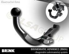 Ťažné zariadenie Audi A1 Sportback (5dv.) 2012-, odnímatelný BMA, BRINK