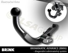 Ťažné zariadenie Dacia Dokker 2012- , odnímatelný BMA, BRINK