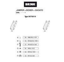Doplnok pre B481900 - pre valník nutné objednať