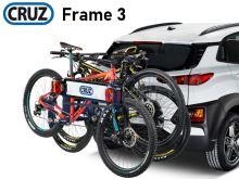 Nosič kol Cruz Frame - 3 kola, na tažné zařízení