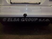Ťažné zariadenie Škoda Octavia sedan+kombi 2013- (III), pevný čep 2 šrouby, BRINK