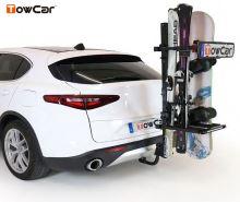 Nosič lyží TowCar Cerler - 6 párov lyží, na ťažné zariadenie