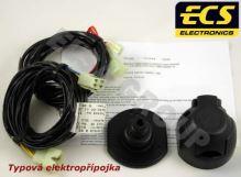 Typová elektroinštalácia Toyota Previa 1990-1999 , 7pin, ECS