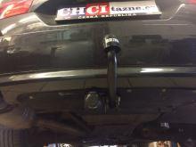 Ťažné zariadenie BMW 5-serie kombi 2010- (F11), pevný čep 2 šrouby, BRINK