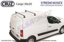 Strešný nosič Citroen Berlingo / Peugeot Partner (2 příčníky 30x20)