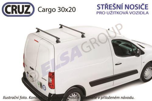 Střešní nosič CRUZ Cargo 30x20