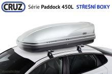 Strešný box CRUZ Paddock 450G lesklá šedá