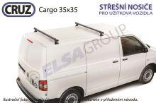 Strešný nosič Mercedes Citan/ Renault Kangoo (také 4x4) CRUZ Cargo 35x35