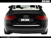 Ťažné zariadenie Audi A4 Avant (kombi) 2008-2015 (B8), automat sklopný, BRINK