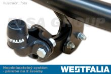 Ťažné zariadenie Chevrolet Colorado 2011- , přírubový čep 2 šrouby, Westfalia