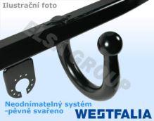 Ťažné zariadenie Ford Fiesta 2005/11-2008/09 , pevný čep svařený, Westfalia