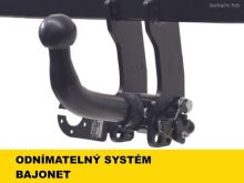 Ťažné zariadenie Jeep Wrangler 2018- (JL) , bajonet, -