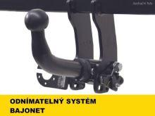 Ťažné zariadenie Kia Rio HB 2009-2011 (JB f.l.), bajonet, -