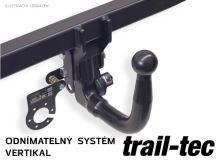 Ťažné zariadenie Kia Sportage 2015-2018 (QL) , vertikální, Trail-Tec