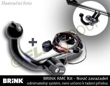 Ťažné zariadenie Citroen C1 2014- , nosič zavazadel, BRINK