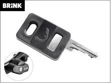 Náhradné kľúč pre čap Brinkmatic BMA - číslo vyraženo na zámku