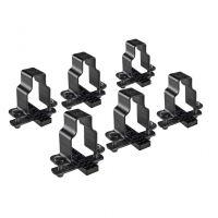 Sada 6 fixačních adaptérů pro modulární koše Evo Rack / Safari - na tyče 35x35, Cruz