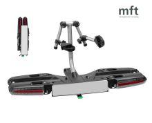 Nosič bicyklov MFT compact 2e+1 - 2 bicykle, na ťažné zariadenie