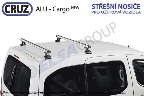Strešný nosič VW Caddy / VW Caddy Maxi ALU-Cargo