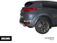 Ťažné zariadenie Hyundai Tucson 2018- , vertikální, BRINK