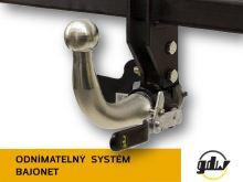 Ťažné zariadenie Honda HR-V 2015- , bajonet, GDW