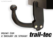 Ťažné zariadenie Jeep Cherokee 2008-2013 (KK) , pevné, Trail-Tec