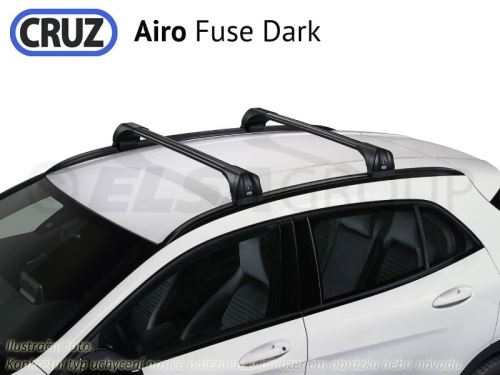 Strešný nosič Hyundai Kona 5dv.17-, CRUZ Airo Fuse Dark
