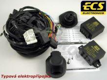 Typová elektroinštalácia Fiat Strada 2004- , 7pin, ECS