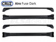Strešný nosič Volvo V60 Cross Country 15-18, CRUZ Airo Fuse Dark