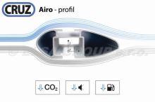 Strešný nosič Opel Zafira 5d MPV 05-07 (integrované podélníky), CRUZ Airo FIX Dark
