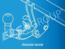 Ťažné zariadenie Mercedes Benz Sprinter I valník 2,8t / 3,5t (MWB/LWB) 1995-2006, bez čepu, Westfalia