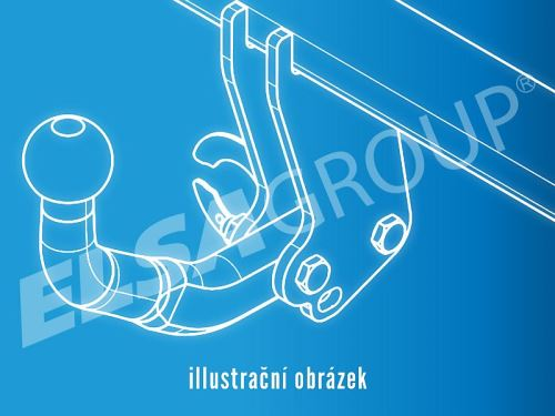 Ťažné zariadenie Mercedes Sprinter / VW LT 28+35 (bez čapu)
