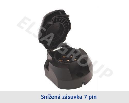 Zásuvka 7pin (DIN) znížená