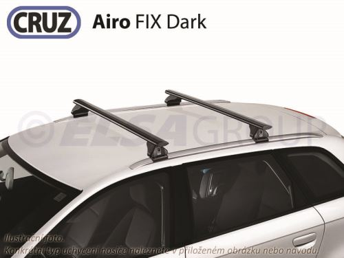 Strešný nosič Subaru Outback 5d MPV 14- (s podélníky), CRUZ Airo FIX Dark