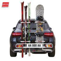 Nosič lyží Fabbri Exclusiv Ski & Board Deluxe - 6 párů lyží, na ťažné zariadenie
