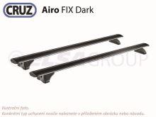 Sada priečnikov CRUZ Airo FIX Dark 118 (2ks)